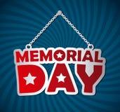 Memorial Day design Stock Photography