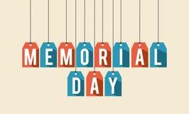 Memorial Day design Royalty Free Stock Photos