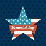 Memorial Day design royalty free illustration