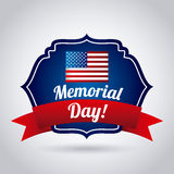 Memorial Day design Royalty Free Stock Photography