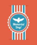 Memorial Day design Royalty Free Stock Image