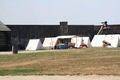Memorial Day -Feier alter Nationalpark Niagara-Fort-NY Lizenzfreie Stockbilder