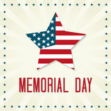 Memorial Day feliz Imagem de Stock Royalty Free