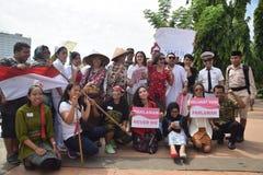 Memorial day hero in Semarang Stock Photos