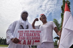 Memorial day hero in Semarang Royalty Free Stock Photos