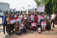Memorial day hero in Semarang Royalty Free Stock Photography