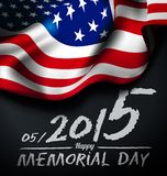 Memorial day illustration Stock Photography