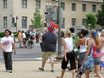 Memorial Day im Washington DC im Stadtzentrum gelegen nahe dem Mall Lizenzfreie Stockfotos