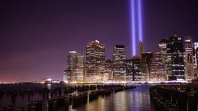 Memorial day manhattan 4k time lapse from september 11 nyc. Memorial day manhattan 4k tima lapse from september 11 new york stock video