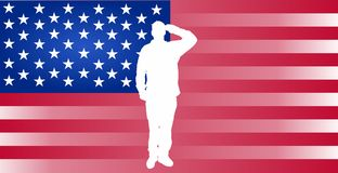 Memorial Day. May 25th Memorial Day Background royalty free illustration