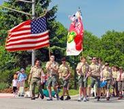 Memorial Day -Parade stock afbeelding