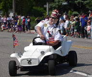 Memorial Day Parade Royalty Free Stock Photography