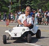 Memorial Day Parade Stock Photo