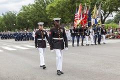 Memorial Day Parade - Washington D.C. Royalty Free Stock Photography