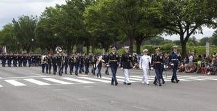 Memorial Day Parade - Washington D.C. Stock Photo