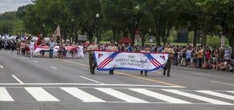 Memorial Day Parade - Washington D.C. Royalty Free Stock Photo