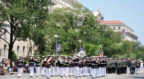 Memorial Day Parade in Washington, DC. Stock Photos