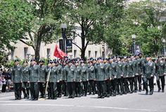 Memorial Day Parade in Washington, DC. Stock Image