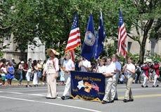 Memorial Day Parade in Washington, DC. Royalty Free Stock Photo