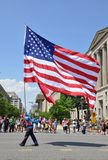 Memorial Day Parade in Washington, DC. Stock Photography