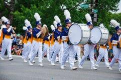 Memorial Day parade 2013, Washington DC, USA Stock Photos