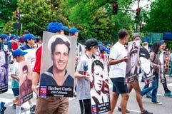 Memorial Day parade 2013, Washington DC, USA Royalty Free Stock Image