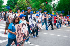Memorial Day parade 2013, Washington DC, USA Royalty Free Stock Images