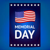 Memorial Day poster Stock Photo