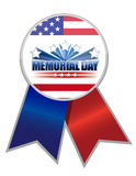 Memorial Day ribbon Royalty Free Stock Photos