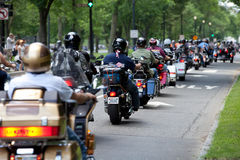 Memorial Day ride Royalty Free Stock Photography
