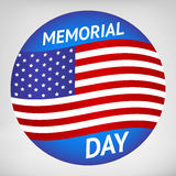 Memorial Day sign Stock Image