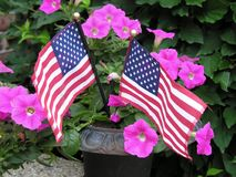 Memorial Day Twins Royalty Free Stock Images