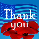 Memorial day in the United States illustration Stock Images
