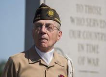 Memorial Day -Zeremonie Lizenzfreies Stockfoto