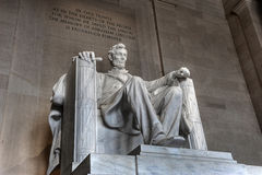 Memorial de Abraham Lincoln fotografia de stock