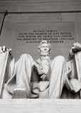 Memorial de Abraham Lincoln foto de stock