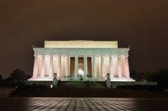 Memorial de Abraham Lincoln, Washington DC EUA fotos de stock