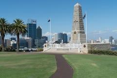 Memorial de ANZAC, Perth, Austrália Imagens de Stock