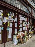 Memorial de Bourdain imagem de stock royalty free