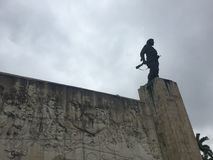 Memorial de Che Guevara em Santa Clara, Cuba imagem de stock
