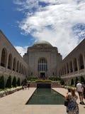 Memorial de guerra de Austrália imagem de stock