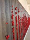 Memorial de guerra de Canberra fotografia de stock