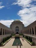 Memorial de guerra de Canberra imagem de stock