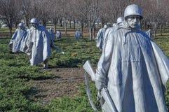 Memorial de Guerra da Coreia Fotos de Stock Royalty Free