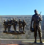 Memorial de Guerra da Coreia New-jersey Fotos de Stock Royalty Free