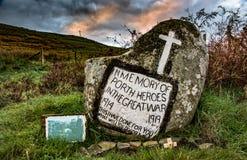 Memorial de guerra da montanha de Galês Fotos de Stock