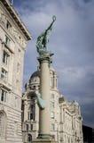 Memorial de guerra de Cunard, Liverpool, Reino Unido Imagem de Stock Royalty Free