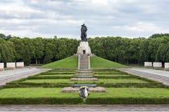 Memorial de guerra do russo em Berlim Alemanha Fotos de Stock Royalty Free