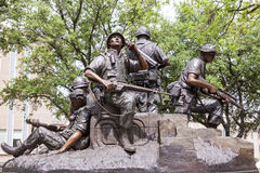 Memorial de guerra do vietname em Austin, Texas Foto de Stock