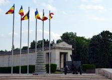Memorial de guerra em Carol Park, Bucareste, Romênia Foto de Stock